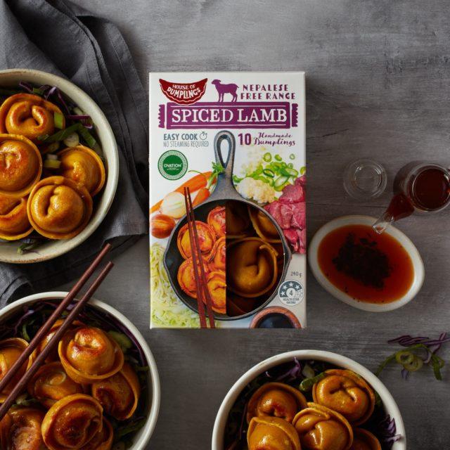 lamb curry dumplings
