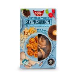 mushroom vegan dumplings plant based